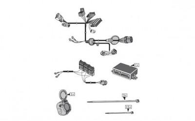 Kabelsatz 7-polig für Anhängerkupplung