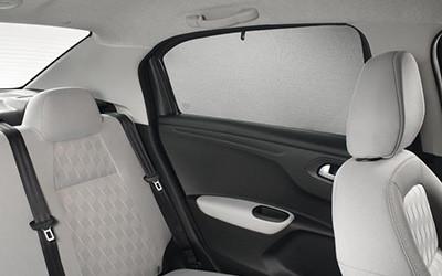Sonnenschutz-Pads Türseitenscheiben hinten