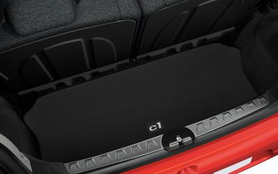 Kofferraummatte Stoff