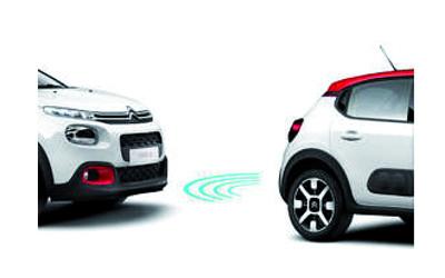 Einparkhilfe hinten 4 Sensoren
