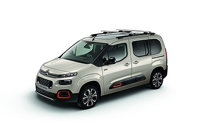 Kofferraumwanne für Citroen SpaceTourer Business PKW Van 2016 Langversion L2 34