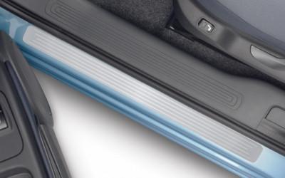 Einstiegschutzleisten Aluminium-Optik