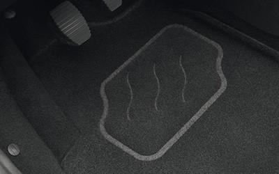 3D Fußmattensatz für vorn und hinten aus Nadelvlies