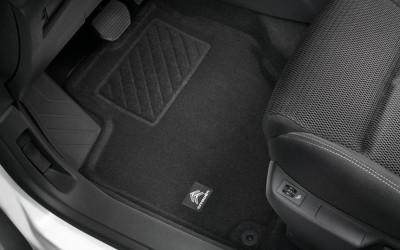 Fußmattensatz für vorn und hinten in ECO-Qualität aus Nadelvlies