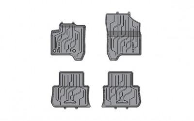 Gummimattensatz geformt für vorn und hinten