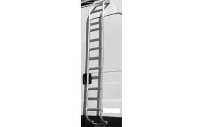 Aluminium-Leiter für Dachgepäckträger H2