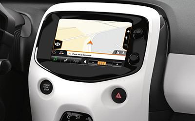 Semi-integriertes Navigationssystem