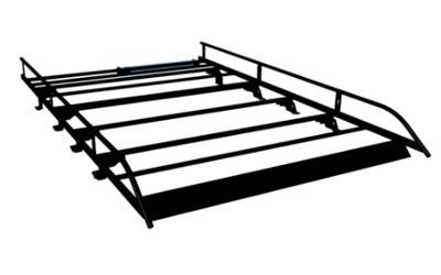 Dachgepäckträger Stahl ohne Leiter - Mit Nutzfahrzeugen und PKWs L2 kompatibel