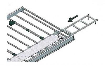 Dachleiter für Dachgepäckträger