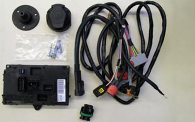 Kabelsatz 7/13-polig für Anhängerkupplung