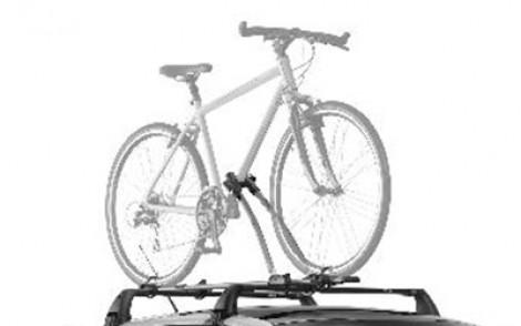 "Fahrradträger THULE ""FreeRide"" auf Dachgrundträger"